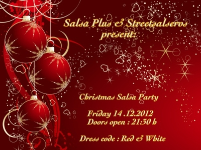 Коледно парти Стрийтсалсерос 2012