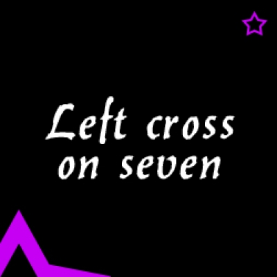 Видео уроци - Left cross on seven
