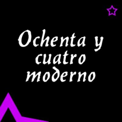 Видео уроци - Ochenta y cuatro moderno